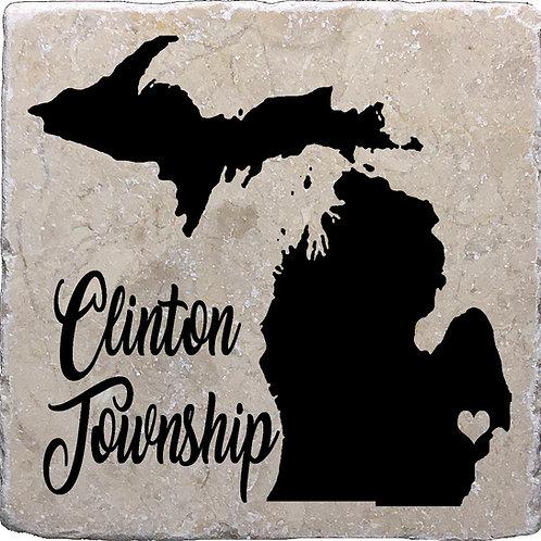 Clinton Township Michigan Coaster