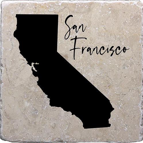 San Francisco California Coaster