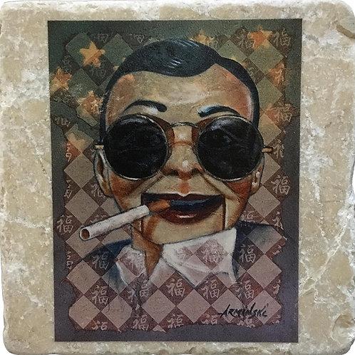 McDummy by Mark Arminski Coaster