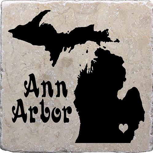 Ann Arbor Michigan Coaster