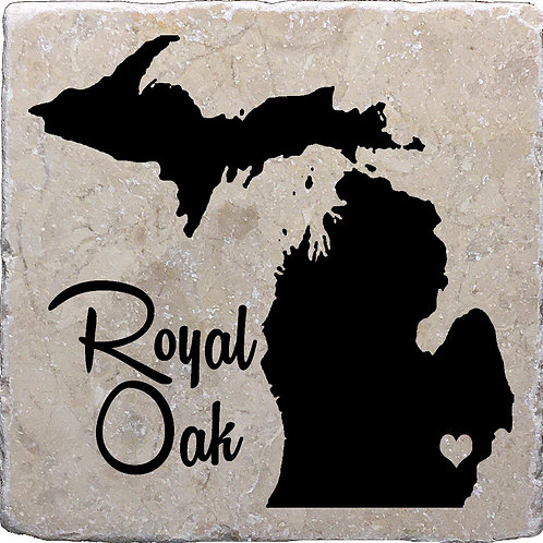 Royal Oak MI Coaster
