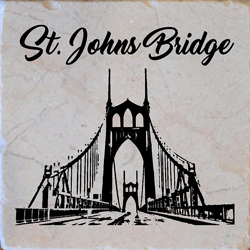 St. Johns Bridge Coaster