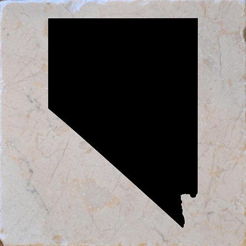 Nevada Silhouette Coaster