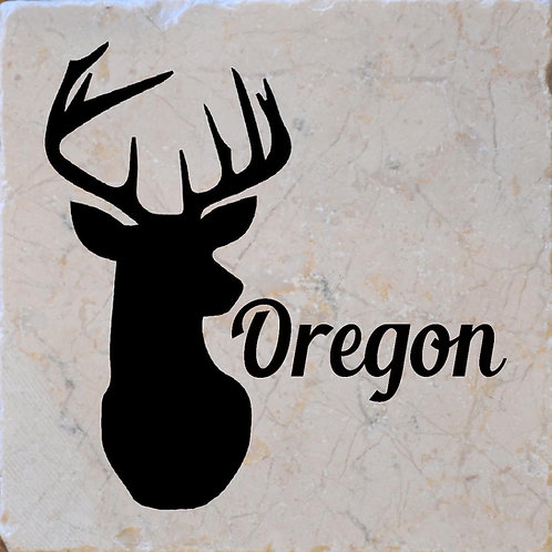 Oregon Buck Coaster