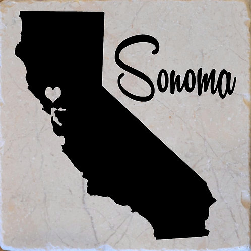Sonoma California Coaster