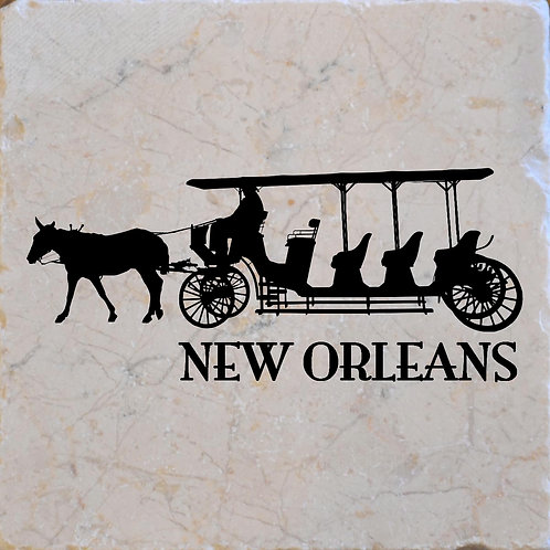 New Orleans Carriage Coaster