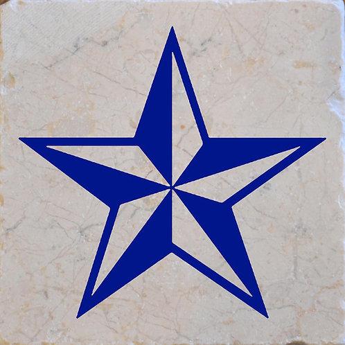 Star Coaster (blue)