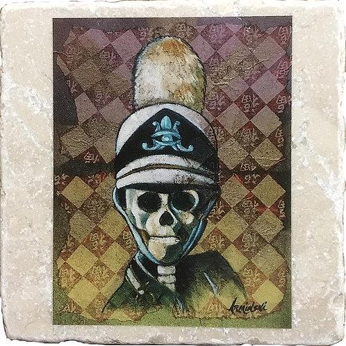 Marching Dead by Mark Arminski Coaster