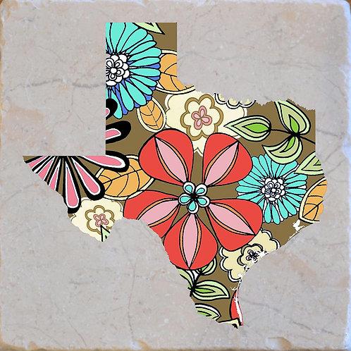 Texas Flowers Coaster