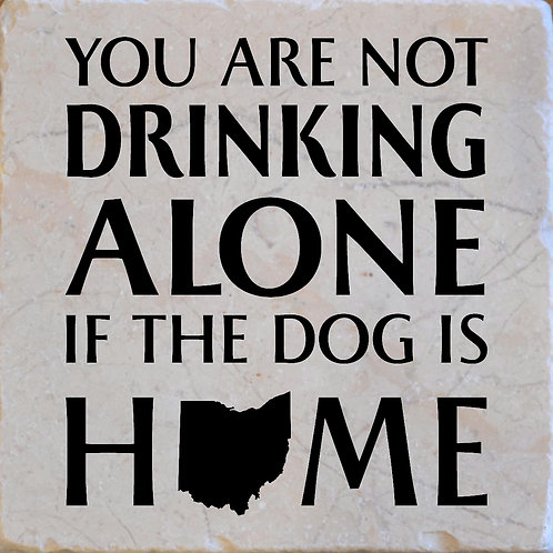 Drinking Dog Ohio Coaster