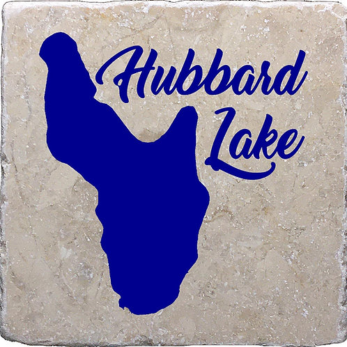 Hubbard Lake in Michigan Coaster