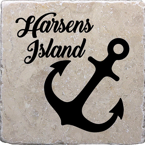 Harsens Island Anchor Coaster