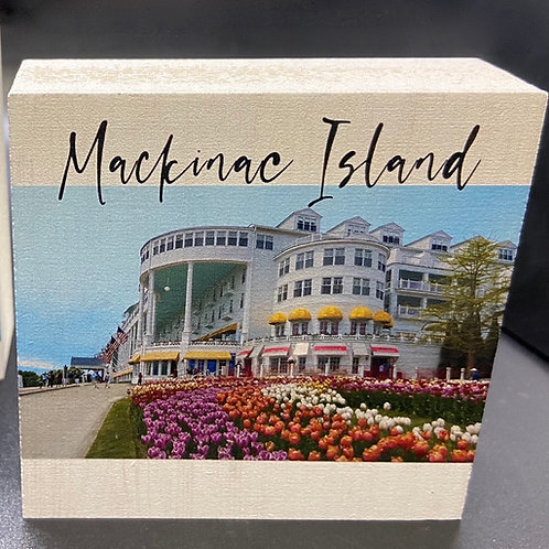Mackinac Island Grand Hotel Art Block