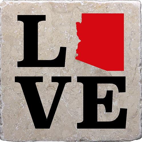 LOVE Arizona Coaster