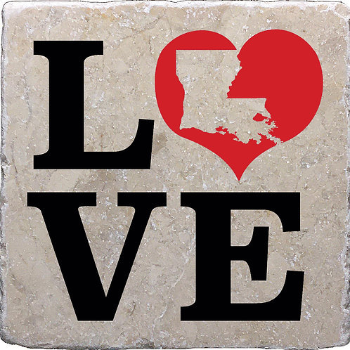 Love Louisiana Coasters
