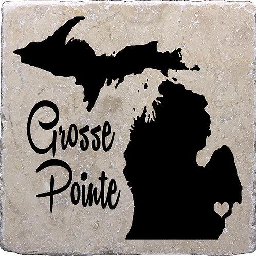Grosse Pointe Michigan Coaster