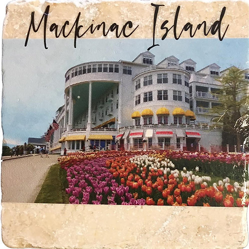 Mackinac Island Grand Hotel Coaster