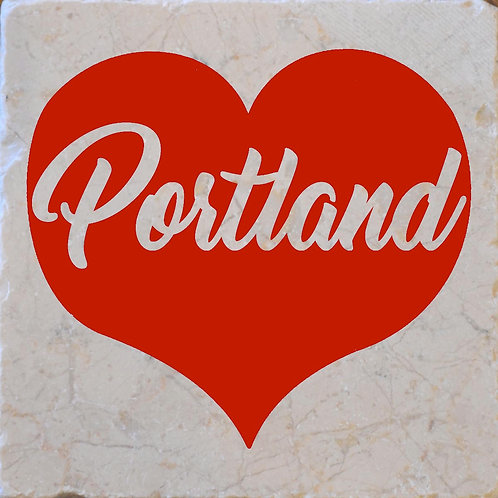 Red Heart Portland Coaster