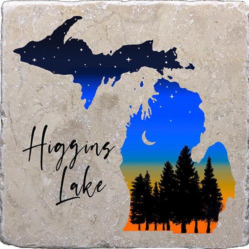 Higgins Lake Michigan Twilight Coaster