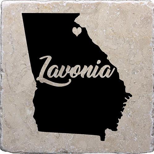Lavonia Georgia Coaster