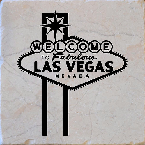 Las Vegas Welcome Sign Coaster