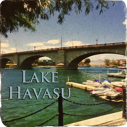 London Bridge Lake Havasu Coaster in Color