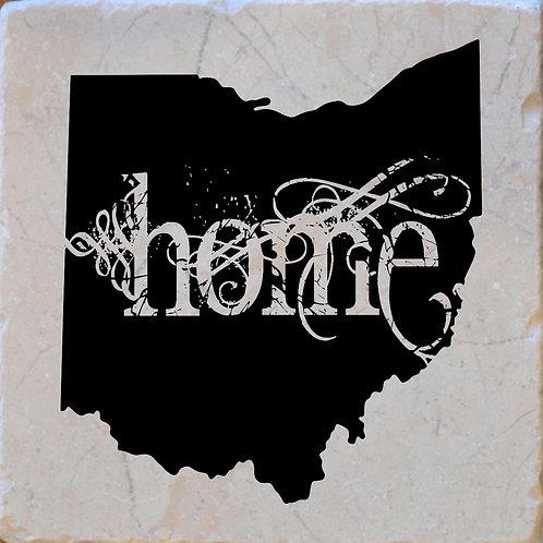 Ohio Home Coaster
