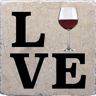Love Wine Coaster