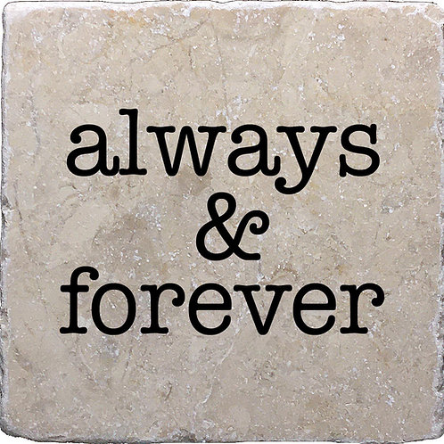 Always & Forever Coaster