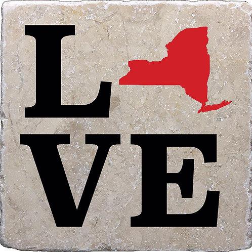 L.O.V.E. New York Coaster
