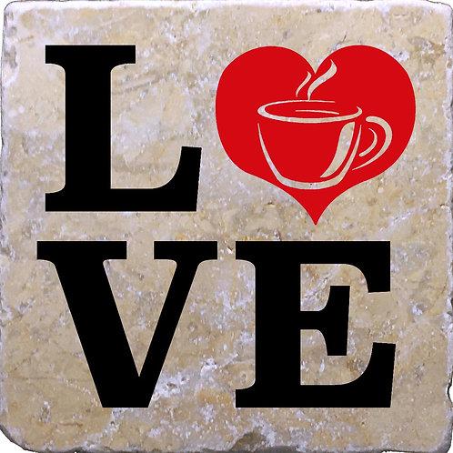 LOVE Coffee Coaster
