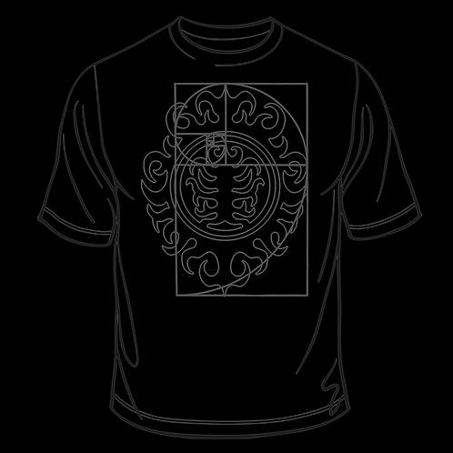 Men's NOOMOON Spiral Shield T-Shirt