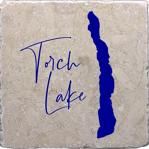 Torch Lake (the lake) Coaster