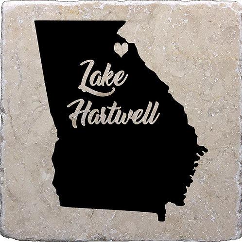Lake Hartwell Georgia Coaster