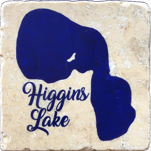Higgins Lake Coaster
