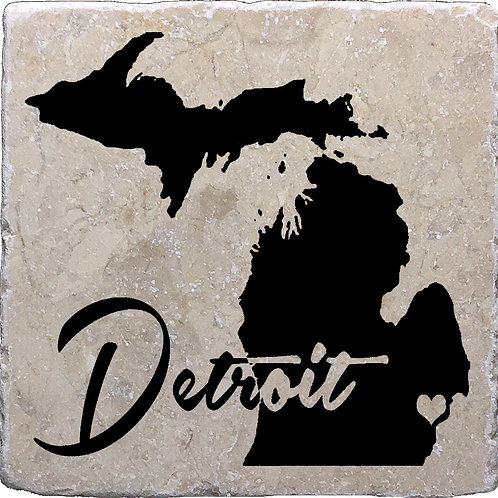 Detroit Michigan Coaster
