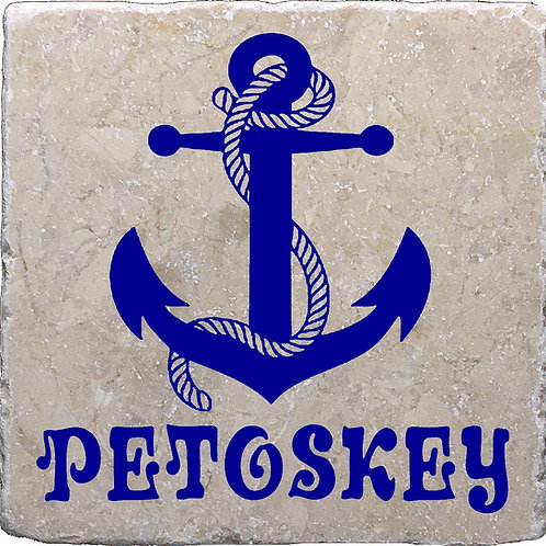 Petoskey Anchor Coaster