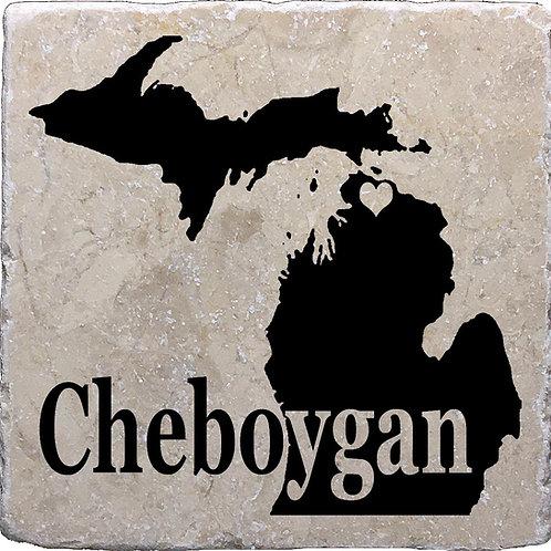 Cheboygan Coaster