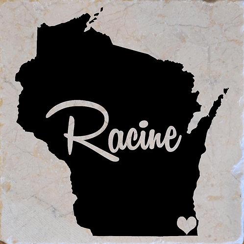 Racine Wisconsin Coaster