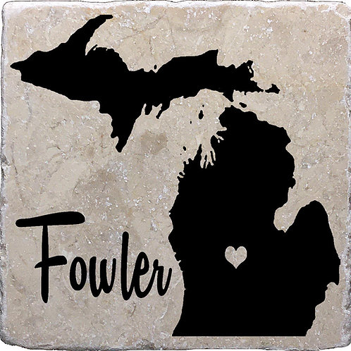 Fowler Michigan Coaster