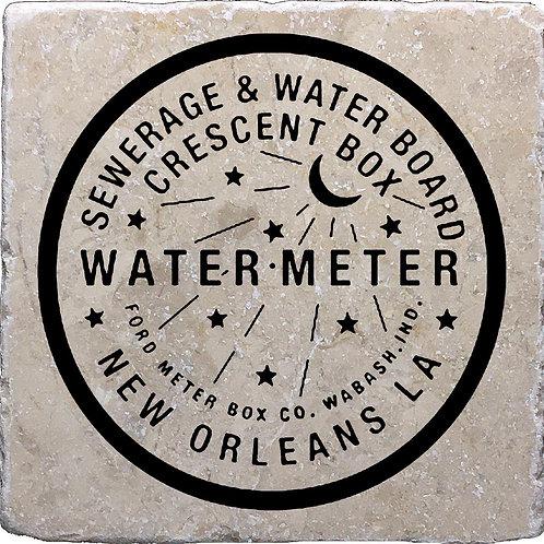 New Orleans Water Meter Coaster