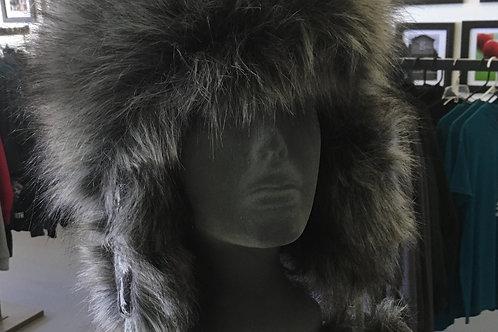Chic Tundra Hat CHARCOAL DAMASK