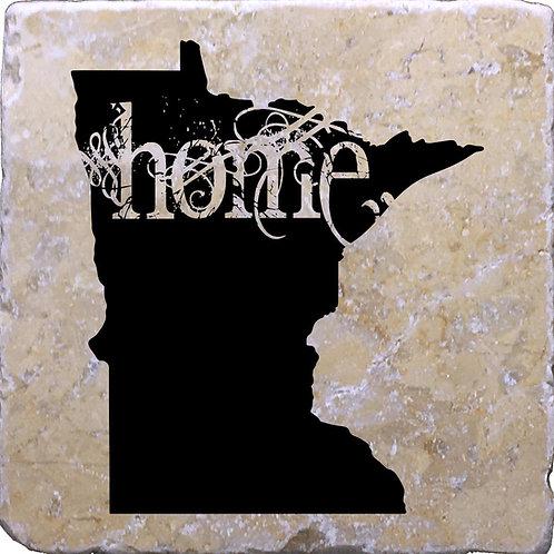 Minnesota Home Coaster