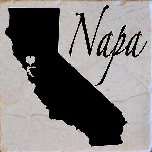 Napa California Coaster