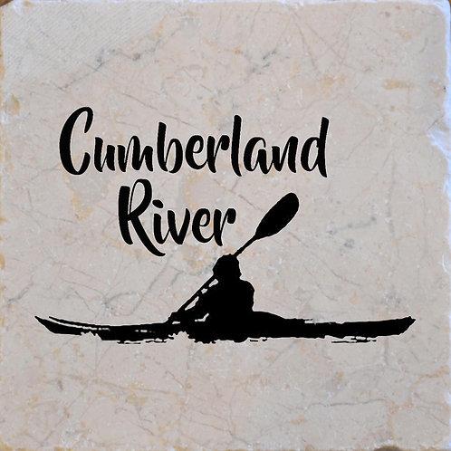 Cumberland River Kayak Coaster