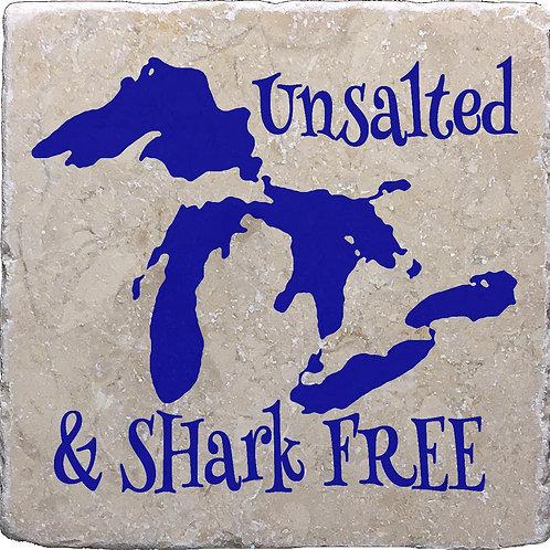 Unsalted & Shark Free Great Lakes Michigan Coaster
