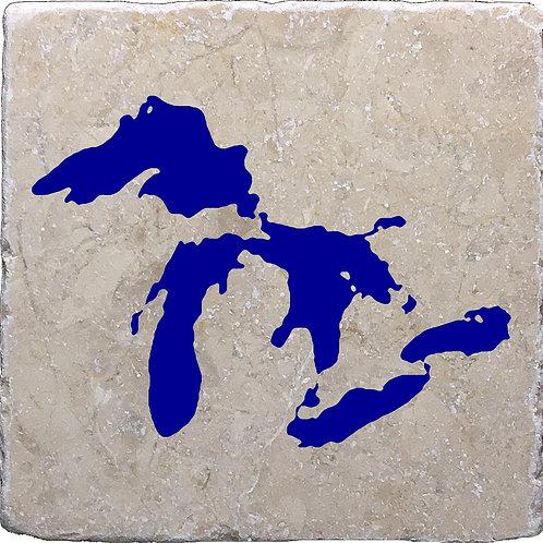 Great Lakes Michigan Coaster