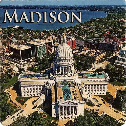 Madison Capital Building Coaster
