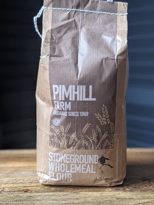 Pimhill Wholemeal Flour Organic 15.kg