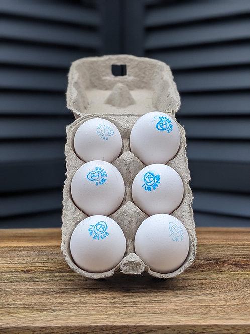 EGGS - Cacklebean Eggs 1/2 doz